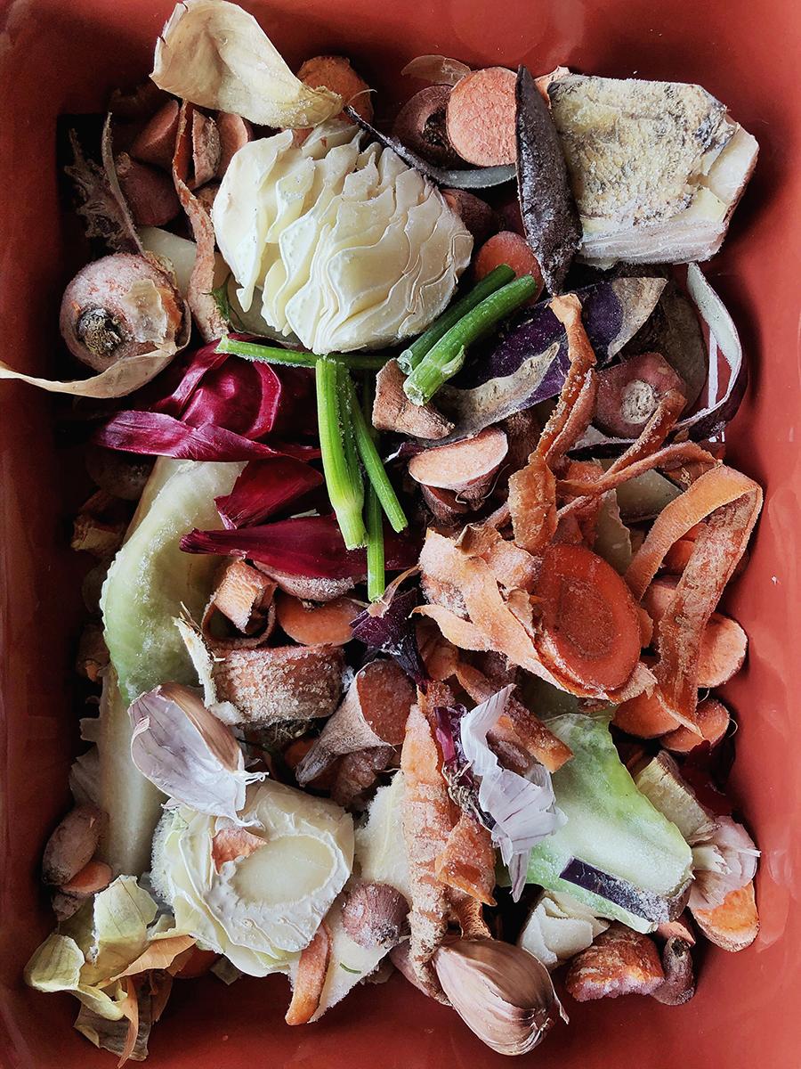 dārzeņu buljons zerowastescraps vegetable broth